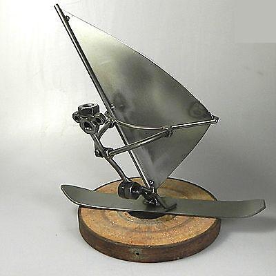 Skulptur Surfer Windsurfer Eisensurfer Handarbeit Kunsthandwerk