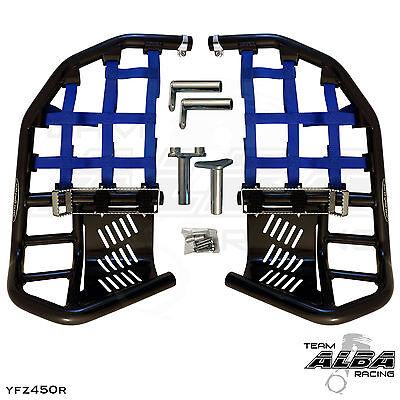 Yamaha Blaster YFS 200  Nerf Bars  Pro Peg  Alba Racing  Black Blue 212 T7 Bl