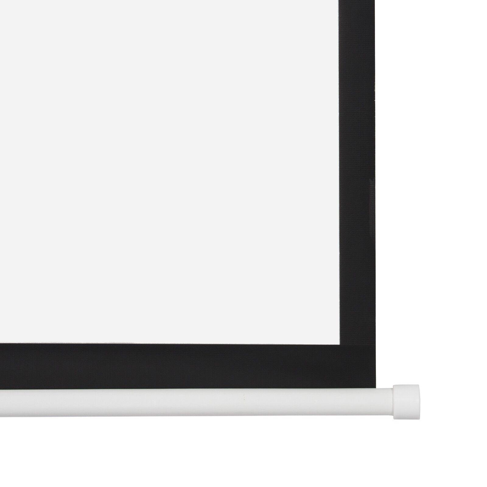 Heimkino Beamer Rollo Leinwand 240 x 180 cm 4:3 16:9 3D 4K Full HD LCD DLP LED