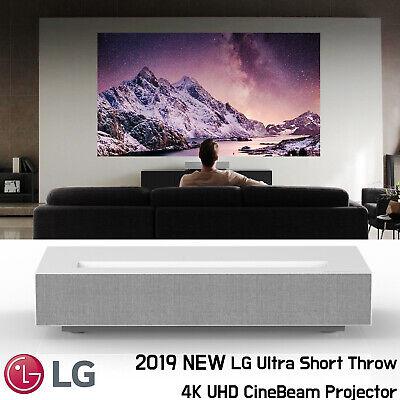 LG HU85LA 4K 3840 x 2160 UHD Laser Smart Home Theater Cine Beam Projector