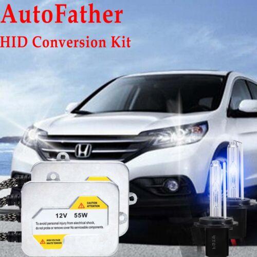 Fits Honda Accord 07+ 55W H1 Xenon HID Conversion Kit Slim Ballast Headlight B