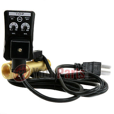 Automatic Electronic Timed Air Tank Water Moisture Drain Valve Compressor 1 Pc