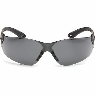 Pyramex Itek Safety Glasses With Smoke Lens Gray Temples