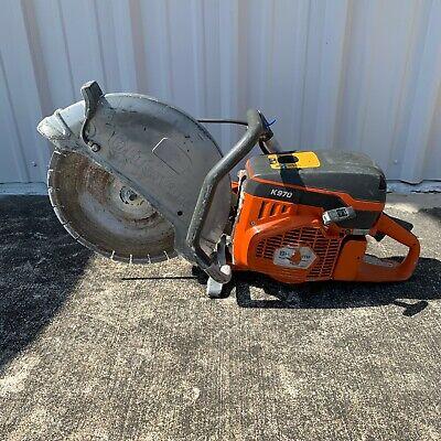 2019 Husqvarna K970 Iii Concrete Saw Gas Power Cutter W Blade