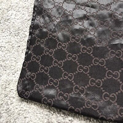 Vintage Gucci Dust Bag Material Inter Locking G Gucci Print Double Sided Large