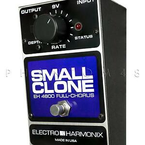 Electro-Harmonix-Small-Clone-Classic-Analog-Chorus-Guitar-Effects-Pedal-NEW