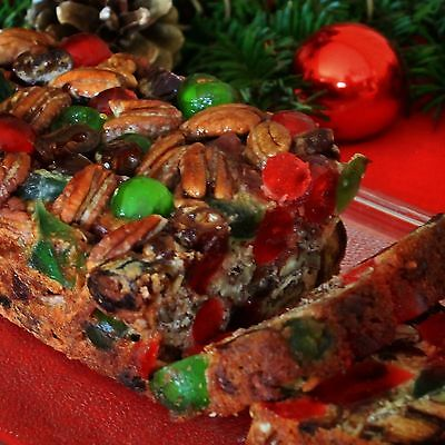 Holiday Fruitcake - Mary Lou's Famous Homemade Holiday Fruitcake 2 Pound Loaf Great Christmas Gift