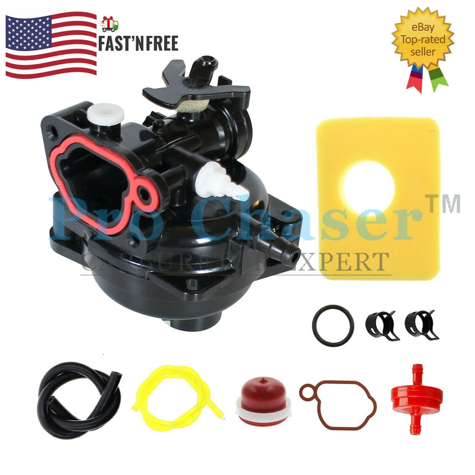 Carburetor Kit for Craftsman Model 247.374301 247374301 Lawn