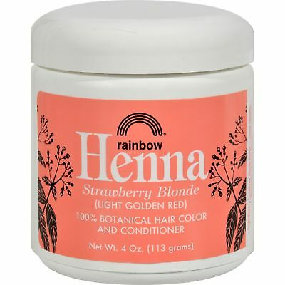 Rainbow Research Henna Hair Color and Conditioner Persian Strawberry, 4 Ounce