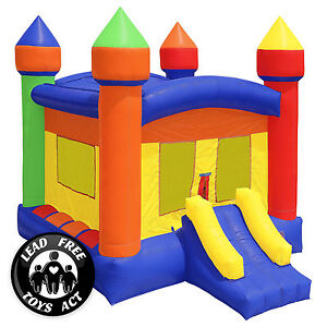 Commercial Grade Bounce House 100% PVC Inflatable Castle Jump with Blower