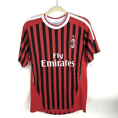 AC Milan Jersey Large Fly Emirates Soccer Football #7