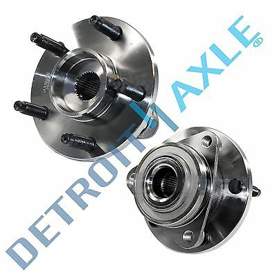 2006 2007 2008 Chevy HHR NO ABS 5 Bolt Front Wheel Hub and Bearing Pair