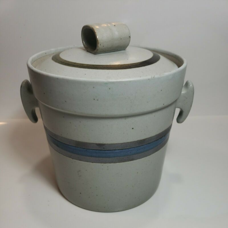 "Vintage Otagiri Japan Pottery Canister 7"""