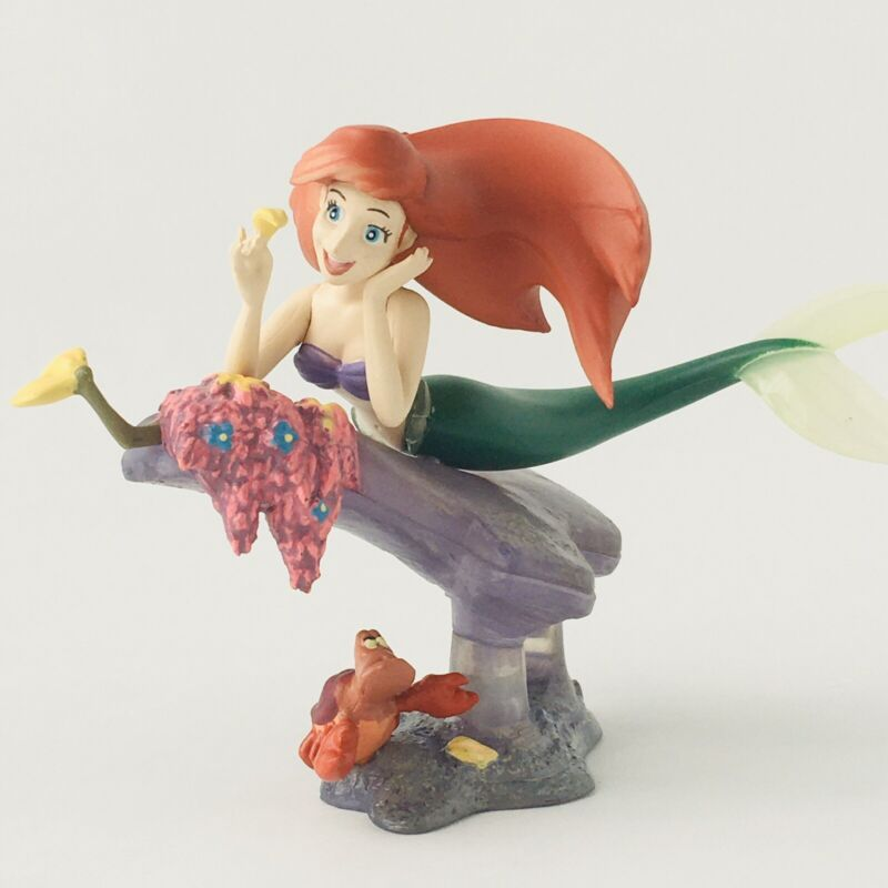 Disney Fantastic Gallery Little Mermaid Ariel & Sebastian Figure Disney Japan