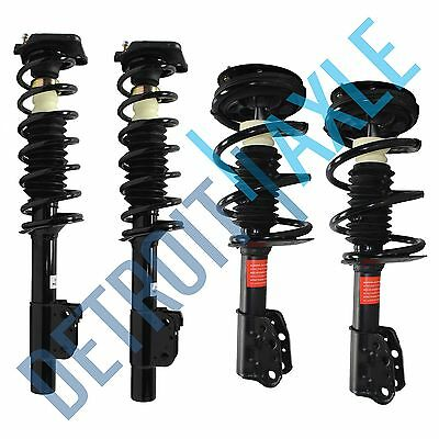 ALL 4 New Complete Front and Rear Driver and Passenger Quick Strut Assembly