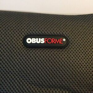 Obusforme Back Support Massage Cushion with Heat