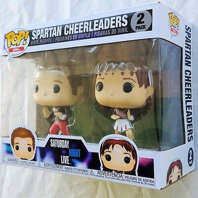 SNL SPARTAN CHEERLEADERS Saturday Night Live Funko Pop Vinyl Figure 2 Pack