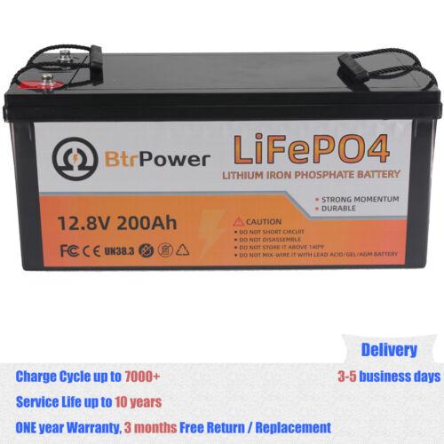 12V 50Ah 100Ah 150Ah 200Ah  Lithium lifepo4 Battery For RV Marine Solar System