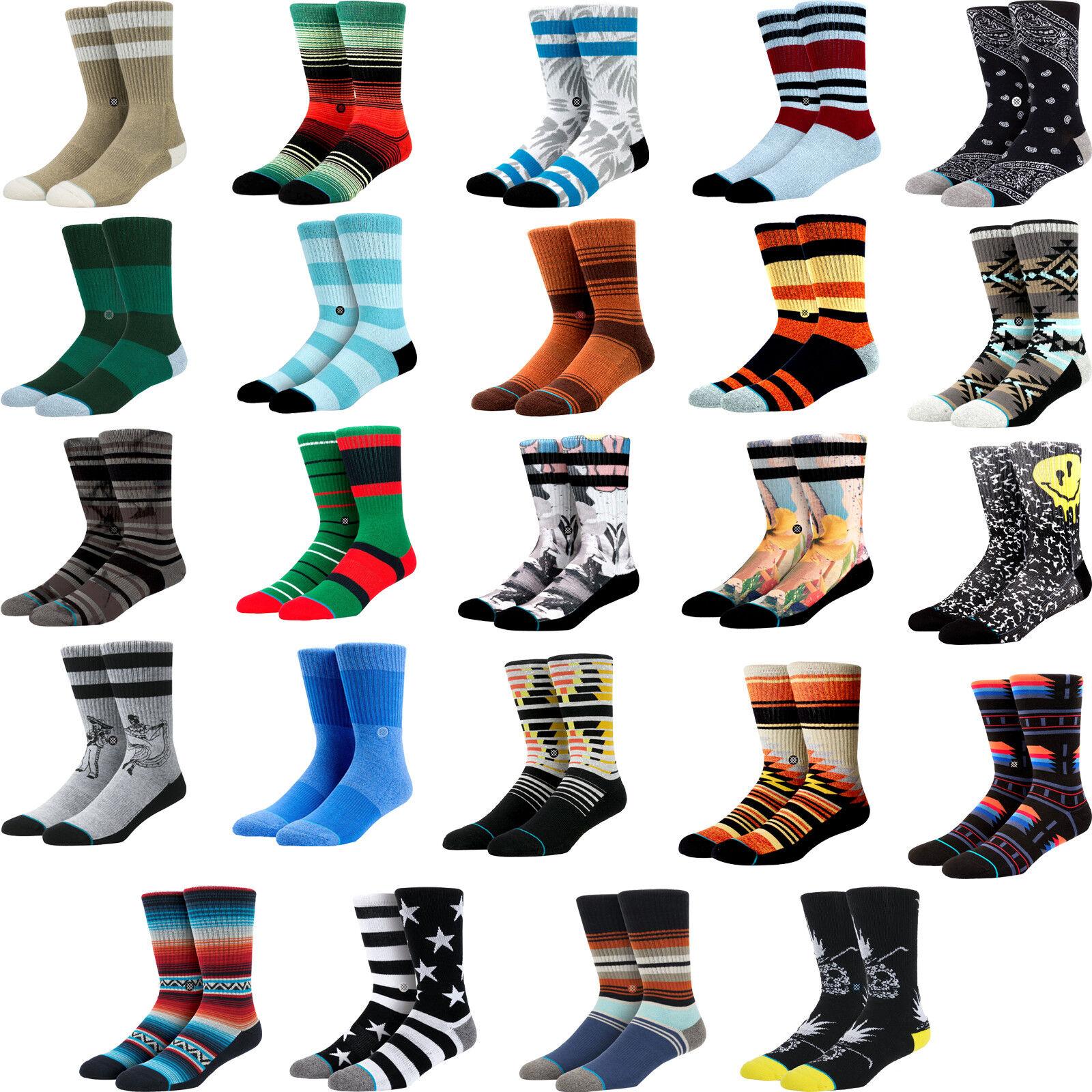 MEN'S STANCE ATHLETIC SOCKS SIZE LARGE (9-12)