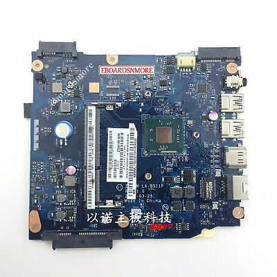 NBMML11002 Motherboard for ACER Aspire ES1-511 laptop, Z5W1M LA-B511P N2830 CPU