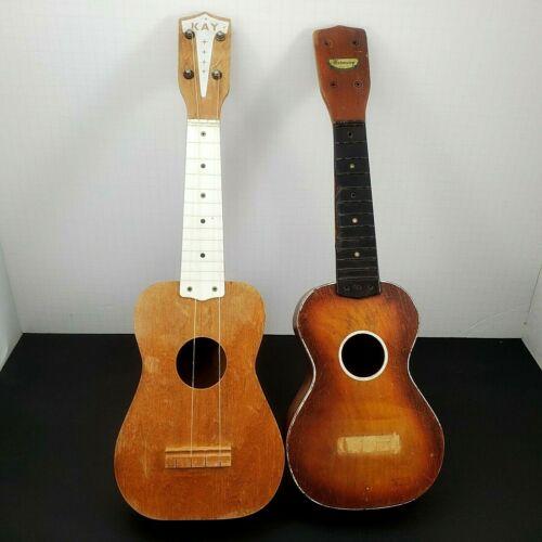 Soprano Ukuleles Two Vintage Instruments for Restoration  Harmony, Kay