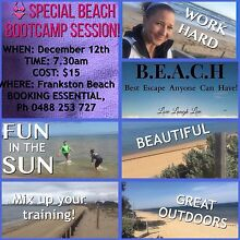 Beach Bootcamp Special! Cranbourne Casey Area Preview
