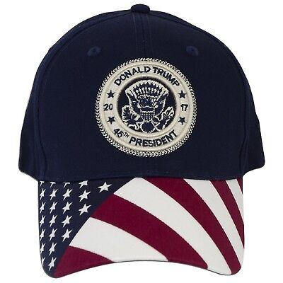 0fb6bc339444d купить Головные уборы с доставкой Donald Trump 45th President American Flag  Design Hat