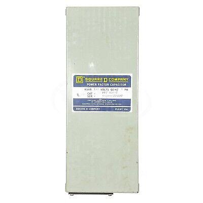 Square D Pfc4005c Power Factor Capacitor 480v 60hz 3-phase 5kvar