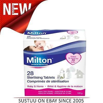 Milton Standard Sterilising Tablet│Maximum Protection Sterilising Tablets│28pk