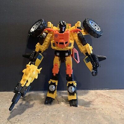 Transformers Thrilling 30 Voyager Class Sandstorm 2014 Generations