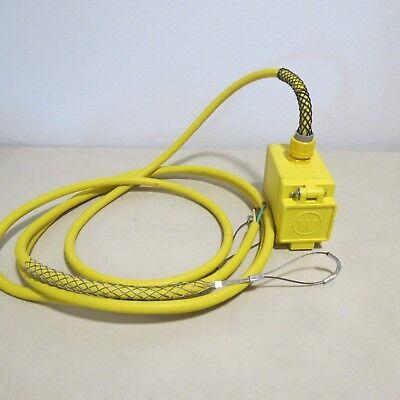 Woodhead Pendant Drop Cord W 70-0210 Outlet 20a 125v 15 Watertite Box Gfci