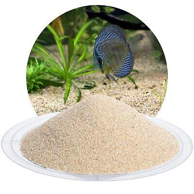 (0,60€/kg) 25kg Aquariumsand Aquariensand beige Bodengrund ungefärbt Natursand