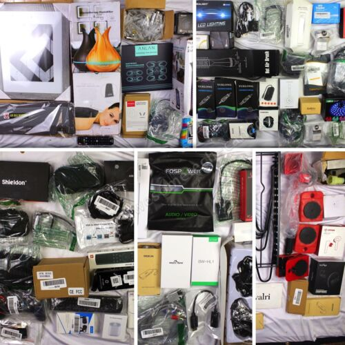 HUGE Wholesale Lot of Consumer Electronics & Home Products, 90 items, $1500 MSRP