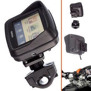 Motorcycle Pro 19-35mm Dia Handlebar Mount + Adapter for Tomtom Rider v5