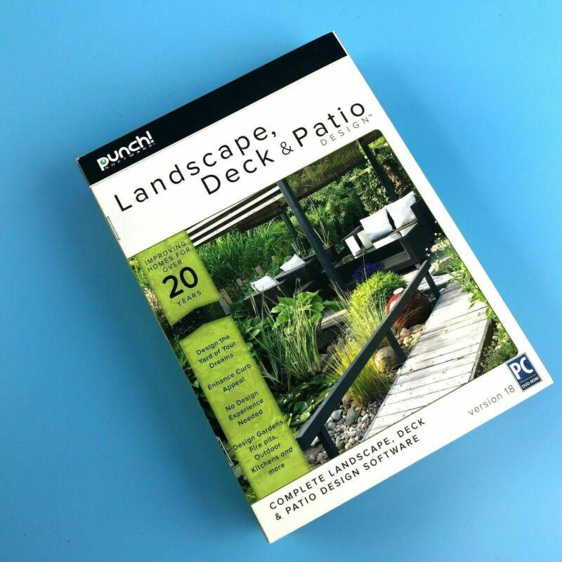 Punch! Landscape, Deck and Patio Design v18 Windows 8132629