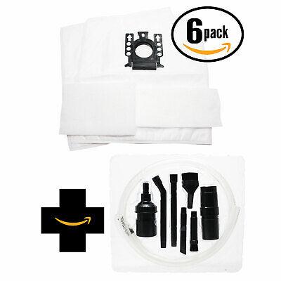 12 Vacuum Bags & 12 Micro Filters for Miele Titan, S2, S2121 Capri w/ Micro Kit