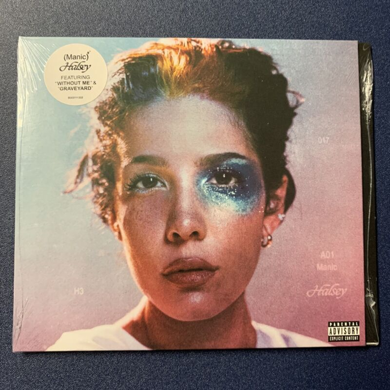 Halsey Manic 1/17/20 PHYSICAL CD 2020BRAND NEW FREE SHIPPING