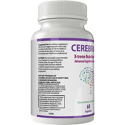 Cerebral Extreme Brain Booster Supplement | Natural Nootropics For Mental Foc... 2