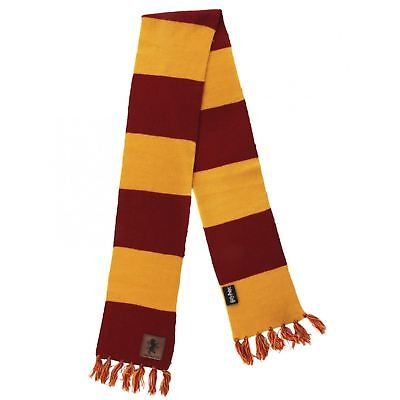 (Official Harry Potter Gryffindor Red Striped Scarf Hermione Costume Accessory)