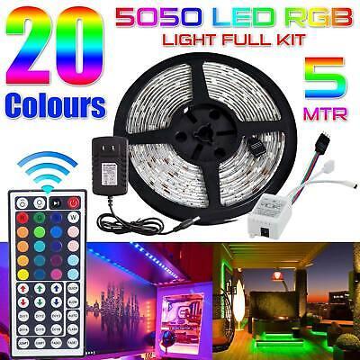 LED Strip Light RGB LED Bias Background Lighting For TV HDTV PC Back Home & Garden