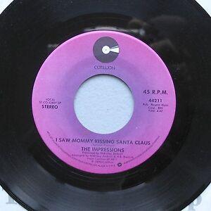 The-Impressions-1976-Xmas-7-Mommy-Kissing-Santa-Silent-Night-Cotillion-44211