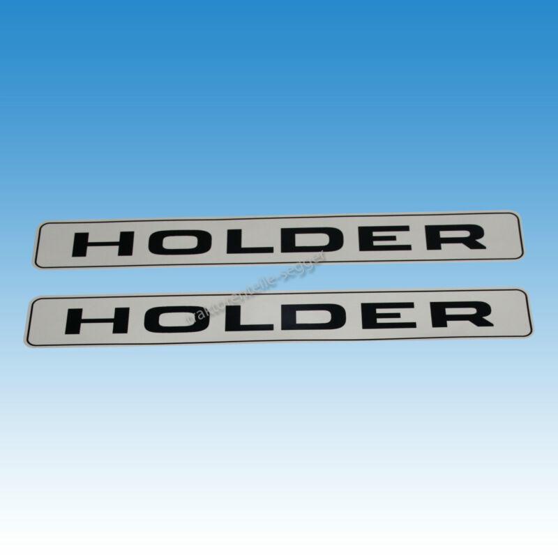 2er Satz seitliche Aufkleber für Holder A 30 A 45 A 55 Traktor Schlepper 01550 Foto 1
