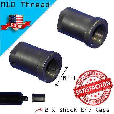 2 Shock End Caps for Lambo Vertical Bolt On Door Kit - for M10 Shock Thread