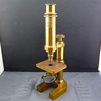 schönes altes Mikroskop  19.Jhd. Dr. E.Hartnack Potsdam
