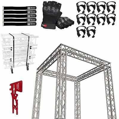 Global Truss Sq-10x10 Square Trade Show Booth With Accessories