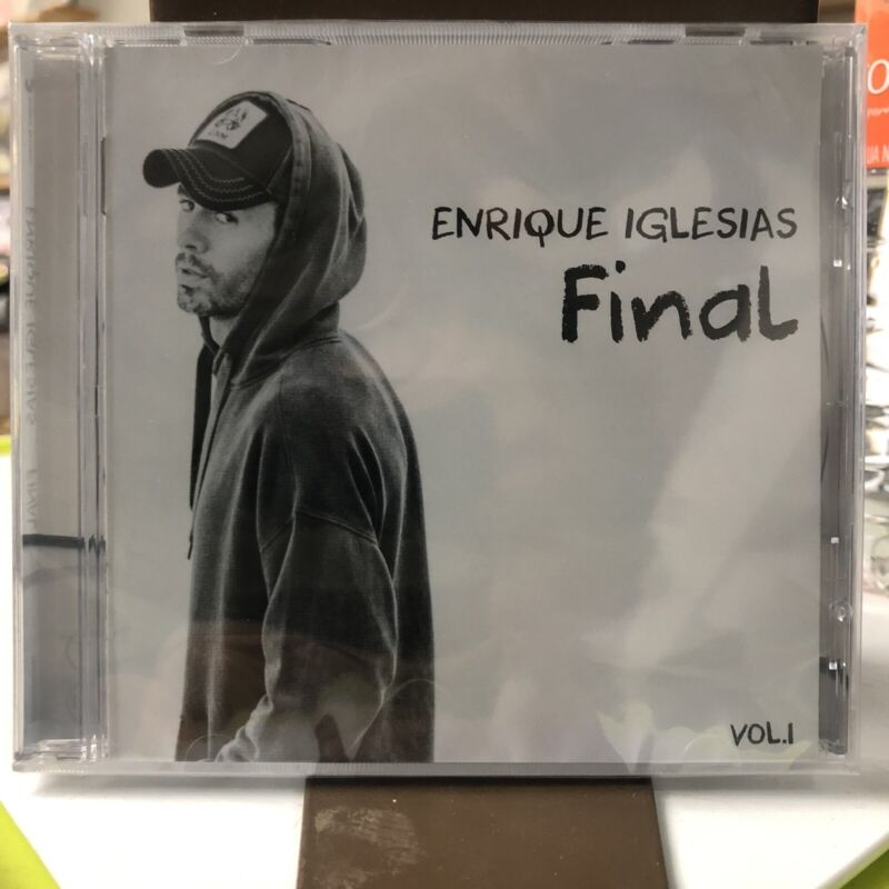 Enrique Iglesias Final Vol. 1 Mexican Edition CD NEW