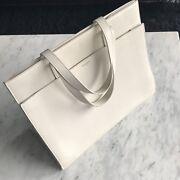 Saint Laurent Leather Shopper Bag - YSL