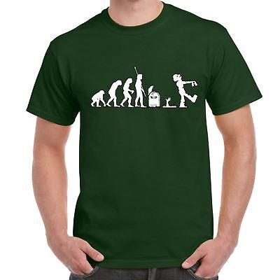 Mens Printed tshirts-Zombie Evolution Walking Dead Inspired-Gifts tshirt for Men - Zombie Gifts For Men
