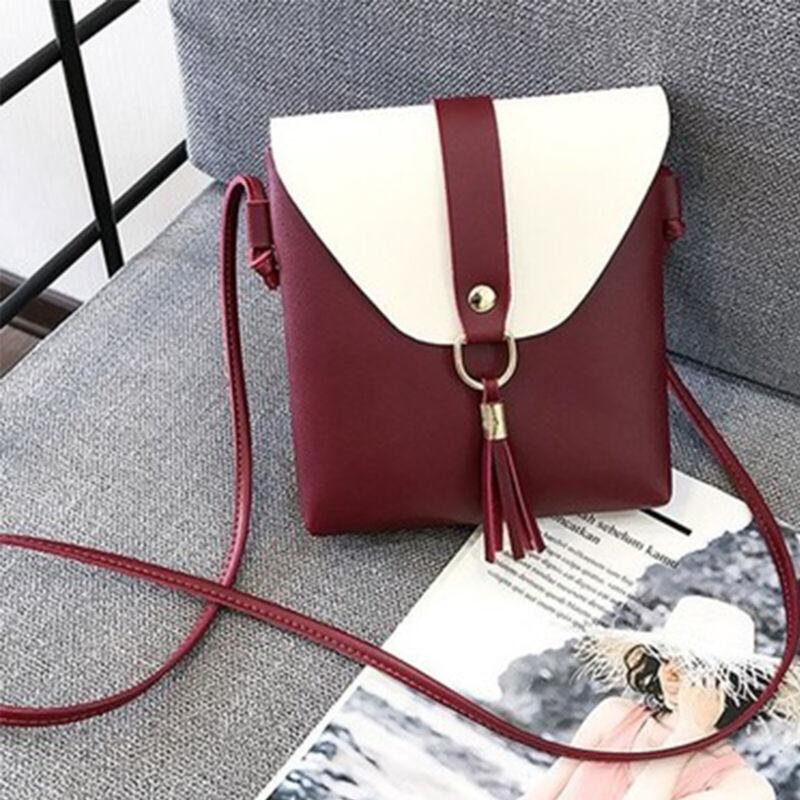 Ladies Cross Body Messenger Bag Womens Shoulder Over Bags Organiser Handbags UK