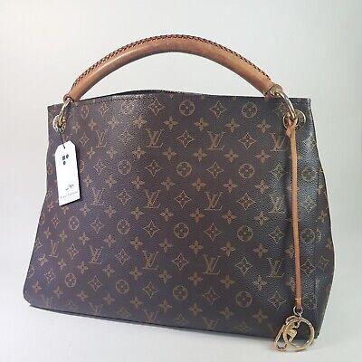 Auth Louis Vuitton Artsy MM Monogram M40249 Guaranteed Tote Bag Genuine LC789